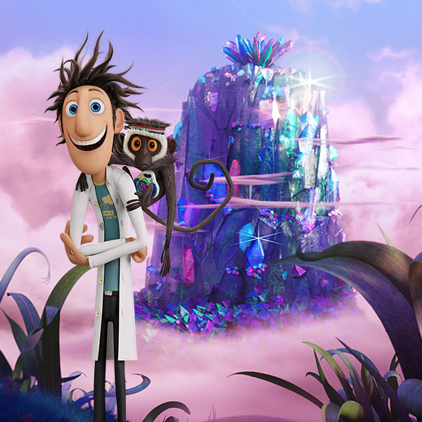 Cloudy with a Chance of Meatballs - Wallpaper Builder
